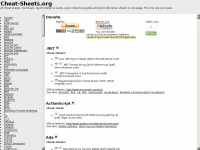 cheat-sheets.org