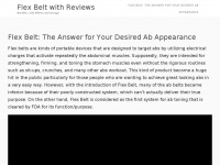flexbeltwithreviews.com