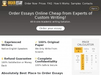 order essays online cheap Order custom thesis, essay, research paper or term paper cheap online fill in professional order form and get writing help from $8/page.